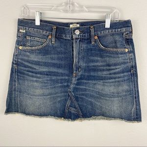 Citizens of Humanity • Denim Skirt